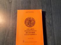 Anuarul institutului de istorie Cluj Napoca 1998