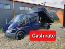 Ford transit 2005 basculabil 7 locuri cash rate