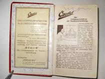 7416-Agenda maghiara mica veche 1938. Coperta piele.