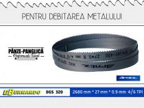 Fierastrau panglica metal 2680x27x0.9x4/6 Bernardo DGS 320