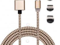 Cablu de incarcare magnetic 3 in 1