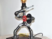 Lampa gladiator steampunkdesigncj, lampa steampunk