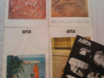 Lot 5 reviste romanesti Arta, de colectie