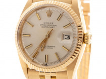 Ceas Rolex Datejust 18K Yellow Gold Oyster Perpetual Vintage
