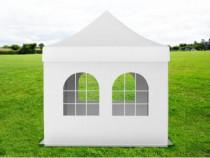 Pavilion grădină pliabil cu 4 ferestre Ignifug 3×3 m