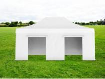 Pavilion grădină pliabil fără ferestre Ignifug 4×6 m