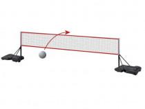 Sistem complet pt tenis de picior - fileu + stalpi cu soclu
