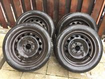 Jante+anvelope vara 16 Dunlop 5X120 !