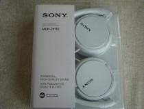Casti audio sony mdr-zx110 (albe sau roz) - noi