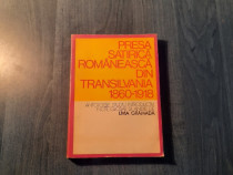 Presa satirica romaneasca din Transilvania 1860- 1918