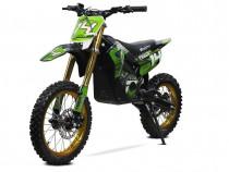 Motocicleta Eco Tiger 1300W 14/12 48V 14Ah Lithiu #Verde