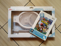 Joc Mario Power Tennis & set nou accesorii tenis (sigilat)!