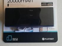 Baterie externa Platinet 20000 mAh