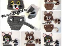 Costumas croșetat pentru ședințe foto Tom & Jerry