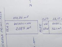 Teren 2087 mp intravilan + 502 mp extravilan Odobesti