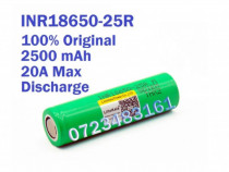 Acumulatori Li-ion INR18650-25R 20A Samsung LG bormasina