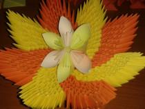 Decoratiune Origami 3D si aranjamente florale