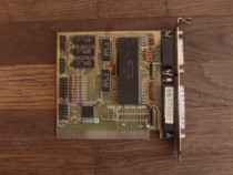 Controller ISA 8bit hdd floppy parallel com 286