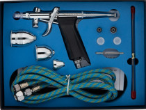 Set pistol aerograf, cupe 2/5/13 ml