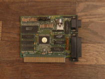 Placa video ISA 8bit cu port printer MDA CGA EGA