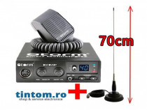 Statie Radio CB STORM Discovery IV + Antena Radio CB ML70