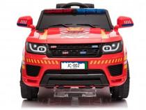 Masinuta electrica firetruck jc002 12v premium #rosu