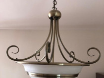 Lustra / candelabru alama antica Toledo Globo Lighting