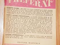 Cantecul (cintecul) preferat. Texte de muzica usoara