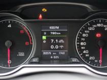 Ceasuri bord Audi A4, A5 color si monocolor
