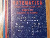 Elemente de algebra. Manuala clasa XII de Mircea Ganga