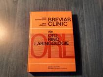 Brevier clinicde oto rino laringologie Dorin Sarafoleanu