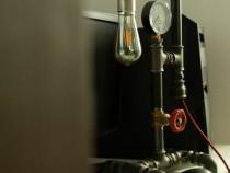 Lampa veioza vintage steampunk