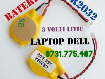 Baterie Bios CR2032 3v Laptop Dell mufa 2 pini