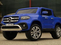 Masinuta electrică pentru 2 copii Mercedes X-Class #Blue