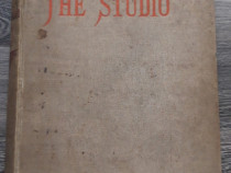 Carte veche the studio anul 1903