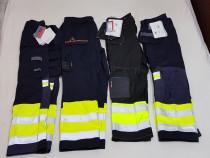 Pantaloni salopeta FRISTADS KANSAS, noi, XS, S, M, L, XL XXL