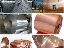 Tabla zinc 0.8x1000x2000mm TiZn titan-zinc rulou cupru inox