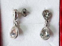 Cercei din argint 925 cu cristale Swarovski