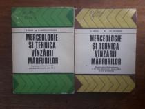 Lot 2 manuale de Merceologie si tehnica vanzarii marfurilor