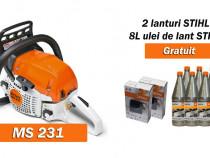 Motoferastrau STIHL MS 231, reducere pret + cadouri