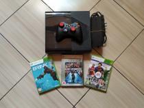 Consola Xbox 360E in stare excelenta, controller & jocuri!