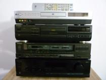 Amplituner technics serwood cd technics ; dvd lg recorder
