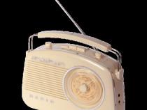 Radio vintage cu bluetoth & radio am/fm