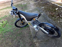 Motocicleta E bike, el moto, motor electric