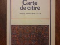 Carte de Citire - Manual pentru cl. a IV -a / R8P5F