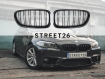 Grile duble BMW Seria 5 F10/F11 NEGRU LUCIOS