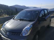 Nissan Note din 2008, volan dreapta