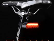 Stop semnalizare wirelees GUB impermeabil usb bicicleta mtb