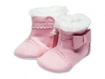 Botosei de iarna roz casual bebe | Botosei imblaniti casual