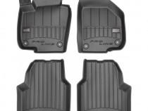 Set Covorase Auto Cauciuc Negro Volkswagen Golf 5 2003-2009